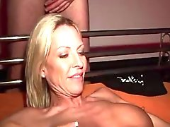 cumslut swinger milf with strangers
