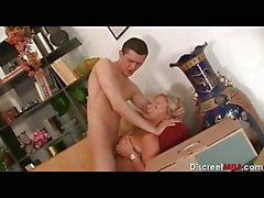 Italian MILF Fucks the Delivery Guy