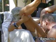 Big Titty Milf Fucked And Facial