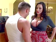 Brazzers Network MILF Ariella Ferrera fucks her daughters admirer
