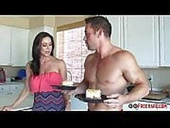 Busty mom Kendra Lust fucking her sons friend