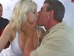 Busty Blonde Banged By Buddy