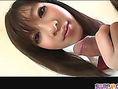 A Great POV Blowjob Ends In An Eruption For Shoko