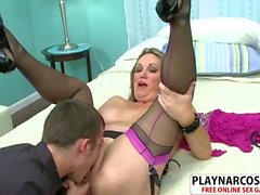 Hottie Milf Lydia South Fucking Sweet Tender Stepson