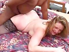 Rough interracial scene