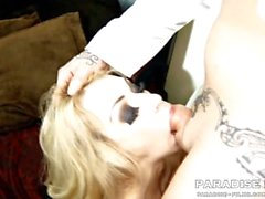 PARADISE FILMS Skinny Cheesie has amazing huge tits