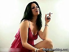 Hot dark haired slut with sexy body part2