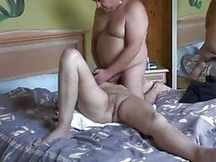 Mature amateur couple homemade