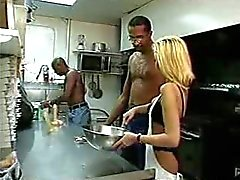 Retro IR anal in the Kitchen