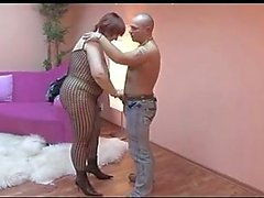 A Russian Amateur-BBW-Milf in Action
