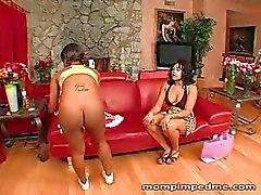 Wife and husband use a teen