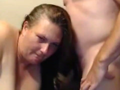 BBW Hairjob and Cum in Hair, Long Hair, Hair