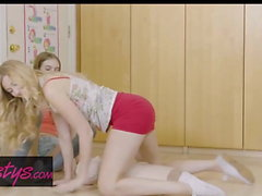 Mom Knows Best - Alexa Grace , Britney Amber - Cute Perky