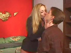 Sultry stockings milf rides a dick with vigor