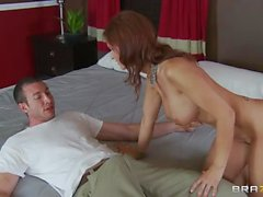 Big tit MILF Syren Demer loves hard cock and anal sex