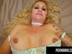 povmania - Curvy Milf Ryan Conner Sucks Cock Like Champ!