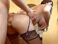 Sexy and raunchy anal drilling