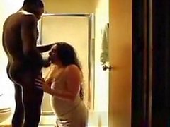 Daddy Edit - White MILF likes her Black BF's cock