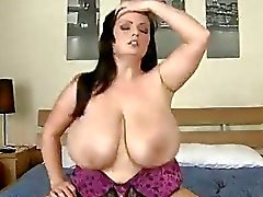 Arianna riding cock as her big ass boobies bounce up and down!