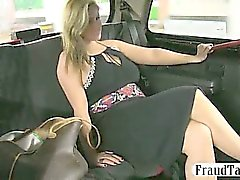 Frisky amateur MILF gets it on with her taxi driver