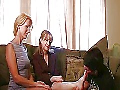 Mature Women Giving A Handjob