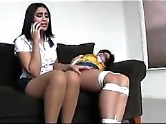Stepmom Gets Tied Up And Humiliated By Stepda