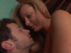 James Deen fuck a beautiful girl and cum in her pussy