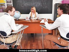 InnocentHigh - Getting Dick in Detention