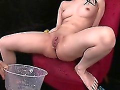 Hina Maeda Masturbates And Has Three Guys Cum For Her