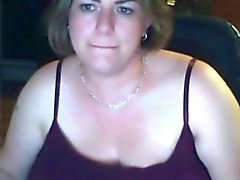 Solo #18 (Attractive Chubby MILF showing Big Natural Boobs)