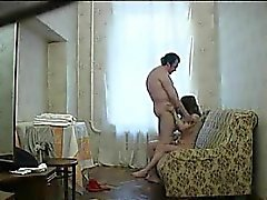 Russian Hooker Fucked By A Fat Customer