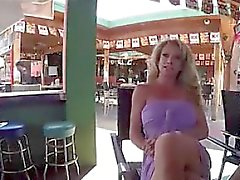 Fitness milf gets Gangbanged and Creampi - She is on MILF-ME