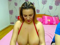 MILF Striptease on Webcam