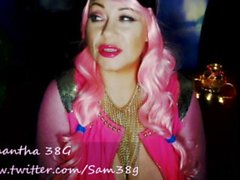Samantha38g live cam show archive from chaturbate Alien cosplay outfit