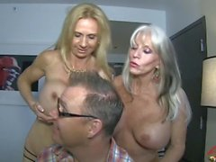 Sally D'angelo and Brooke Tyler FUCK the neighbor next door