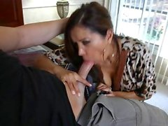 Sassy Francesca Le gobbles down this fuck stick