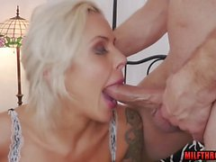 French milf anal with cumshot
