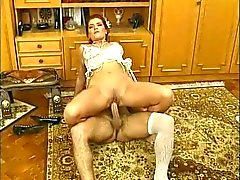 Milf in Nylons - His Bitch Fuck Hard