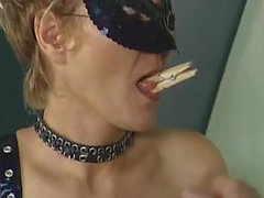 Submissive milf ends her scene with a painful red ass