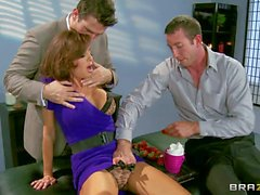 Big tit mom Veronica Avluv has sex with men of her dreams