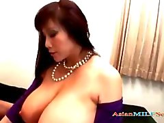 Fat Asian Milf With Huge Tits Getting Her Pussy Fucked