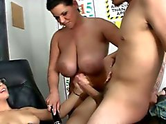 Step sis teen wank trio