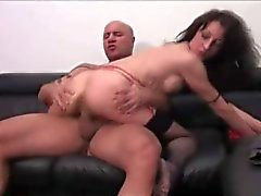 fucking a french Milf in the ass
