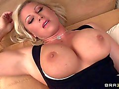 Huge titted mom Devon Lee is hungry for cock
