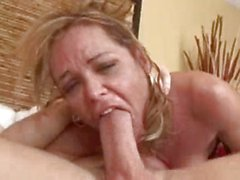 Kelly Leigh ATM and gagging on cock